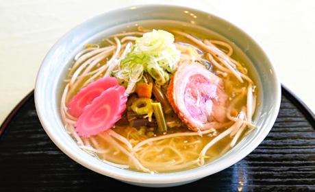 写真:山菜しおラーメン